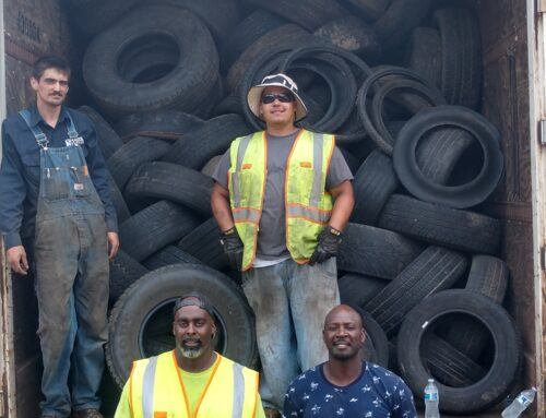 2021 Tireless Project Brings No-Cost, Monthly Tire Collection to Peoria Residents