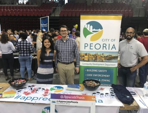 Appreciating Peoria at the Bradley Activities Fair