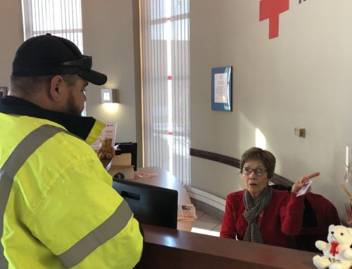 Community Development Staff Donates Blood