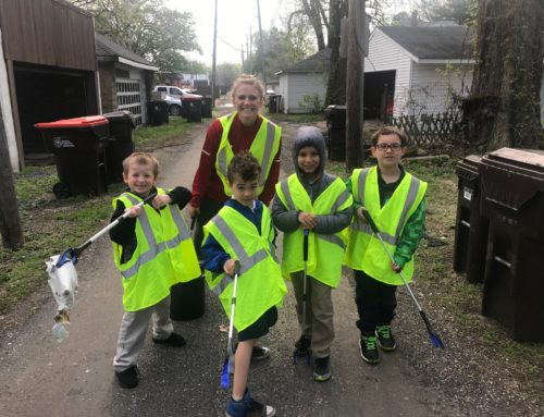 Bradley Clean Up Crew Partners with Whittier Grade School
