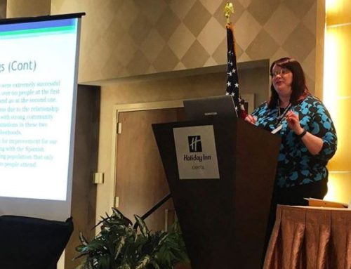 Grants Manager Kathryn Murphy Presents at National Conference